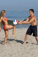 Need A Fun Form Of Cardio? Try Beach Volleyball!