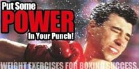 Put Some Power In Your Punch! Weight Exercises For Boxing Success