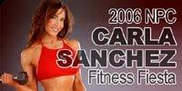 2006 NPC Carla Sanchez Fitness Fiesta Contest Review & Results