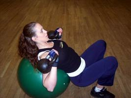 Kettlebell Incline Bench Press