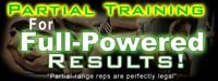 Partial Rep Training For Full-Powered Results!