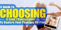 Choosing A Good Photographer To Capture Your Physique On Film!
