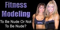 Fitness Modeling: To Be Nude Or Not To Be Nude?