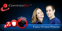 Family Fitness Podcast: Living The Healthy Fitness Lifestyle With Tabitha & Jason!
