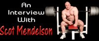 Interview With Scot Mendelson!