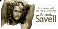 An Interview With Top Figure Competitor Amanda Savell.