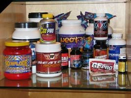 supplement stash
