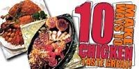 10 Ways To Make Chicken Taste Great!