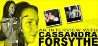 An Interview With Cassandra Forsythe!