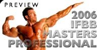 2006 IFBB Masters Professional World Championship Preview