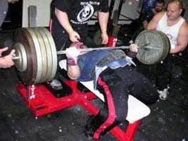 Curtis Shultz Benching 520