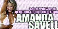 An Interview With Beautiful Figure Competitor Amanda Savell