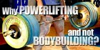 Why Powerlifting (And Not Bodybuilding)?