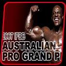 2007 IFBB Australian Pro Grand Prix Contest Information