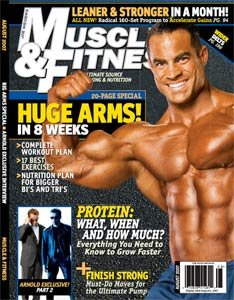 Muscle & Fitness August 2007
