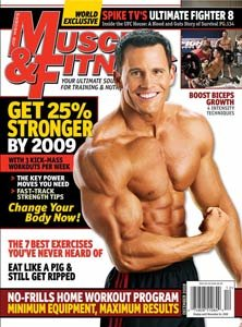 Muscle & Fitness December 2008