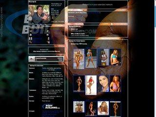 MySpace Layout: Bicep Flex Dark