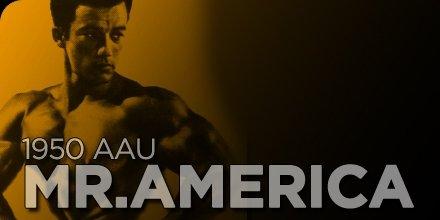 1950 AAU Mr. America