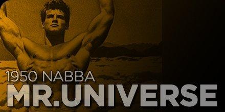 1950 NABBA Mr. Universe