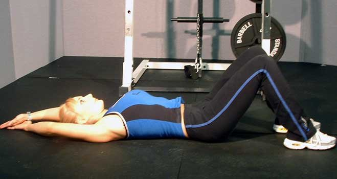 Crunches And Back Exercises