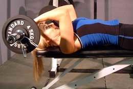 Lying Triceps Press