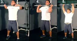 Barbell Clean And Press