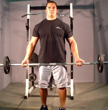 Exercise Of The Week: Barbell Curls.