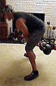 Double Kettlebell Swings