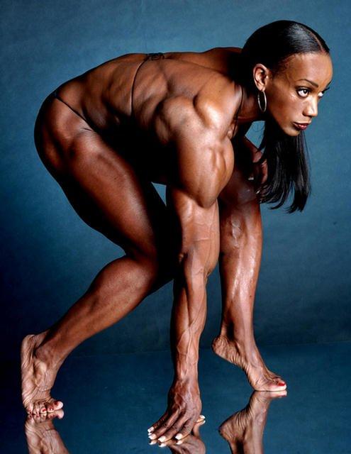USA World Smartest Female bodybuilders