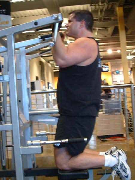 Though Many Think Of The Chin Up As A Back Exercise Shortening Range Motion Can Make For Very Effective Bicep Workout