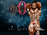 Mr. Olympia Contender Kai Greene!