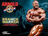 2011 Arnold Classic Champion Branch Warren