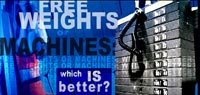 Free Weights Or Machines: Which Is Better?