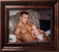 John Gray and baby