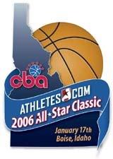 CBA Allstar Game Logo