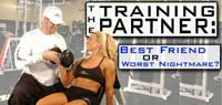 The Training Partner: Best Friend Or Worst Nightmare?