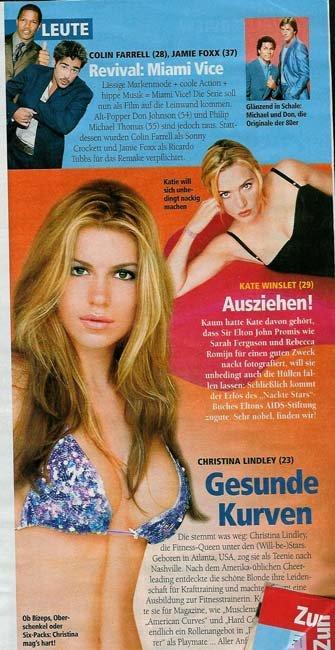 nackt Lindley Christina 61 Sexiest