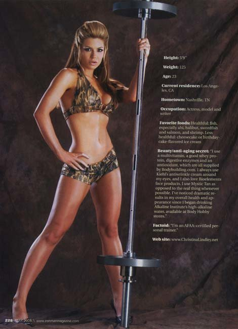 christina model 2005