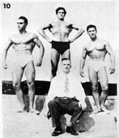 Dan On The Right & Joe Weider In The Center
