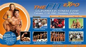 The 2006 Fit Expo Flyer