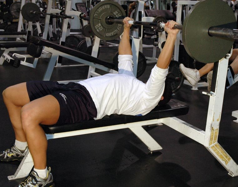 Guillotine Bench Press Part - 18: Barbell Guillotine Bench Press