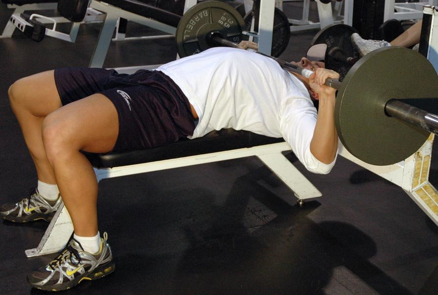 Attractive Guillotine Bench Press Part - 3: Barbell Guillotine Bench Press