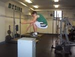 Concentric Box Jump
