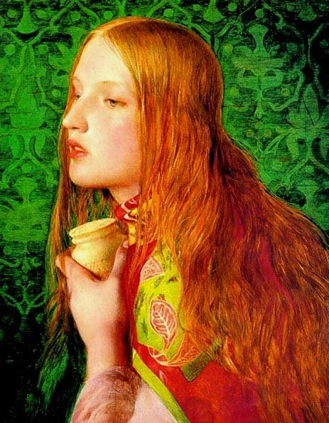 Mary Magdalene (1860) by Anthony Frederick Augustus Sandys