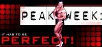 Peak Week: It Has To Be Perfect!