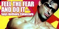 Feel The Fear And Do It, Says Anthony Catanzaro.