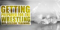 Getting Prepared For The Wrestling Off-season Training