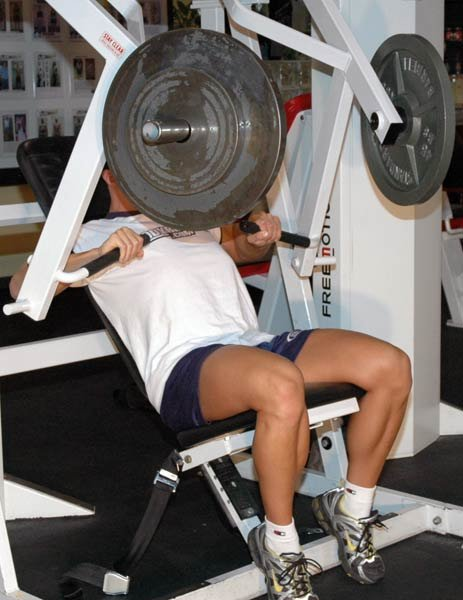 Displaying (19) Gallery Images For Chest Workout Machine...