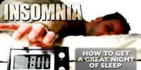 Insomnia: How To Get A Great Night Of Sleep!