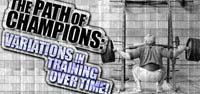 The Path Of Champions !
